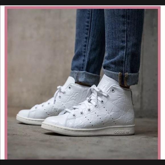 adidas Shoes | Midtop Stan Smith White